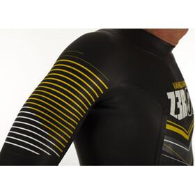 Z3R0D Vanguard Traje Triatlón Hombre, negro/amarillo